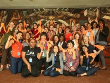 ONU : Peuples Solidaires – ActionAid avec le Groupe Majeur des Femmes