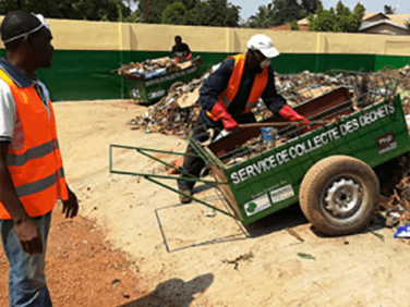Dolisie: un modèle à suivre en matière de gestion des déchets