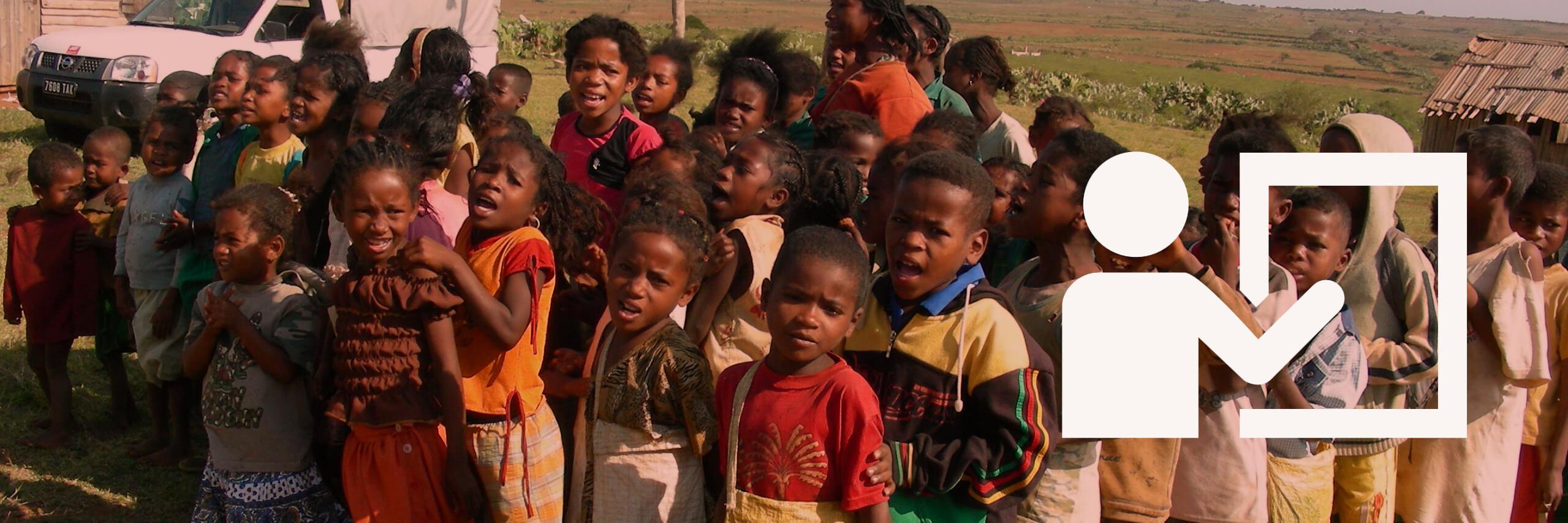 Ecoliers à Madagascar