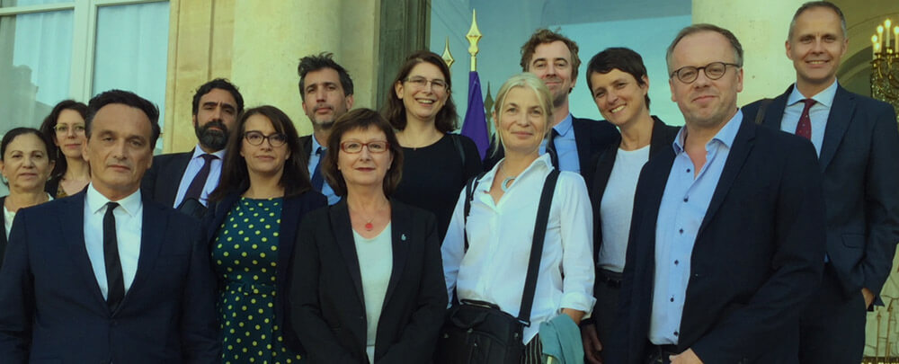 Rencontre des ONG avec Emmanuel Macron