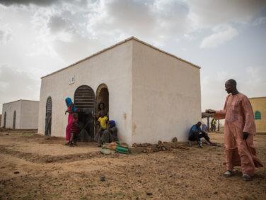 Un village entièrement construit en Voûte Nubienne