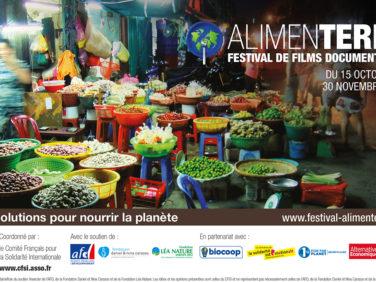 15 octobre 2016-Lancement du festival de films documentaires ALIMENTERRE