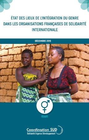 Document Etat des lieux de l'intégration du genre