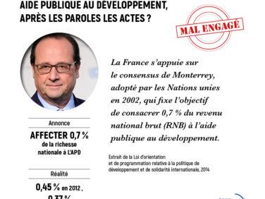 Budget 2017 : de la parole aux actes, la France doit tenir ses engagements !
