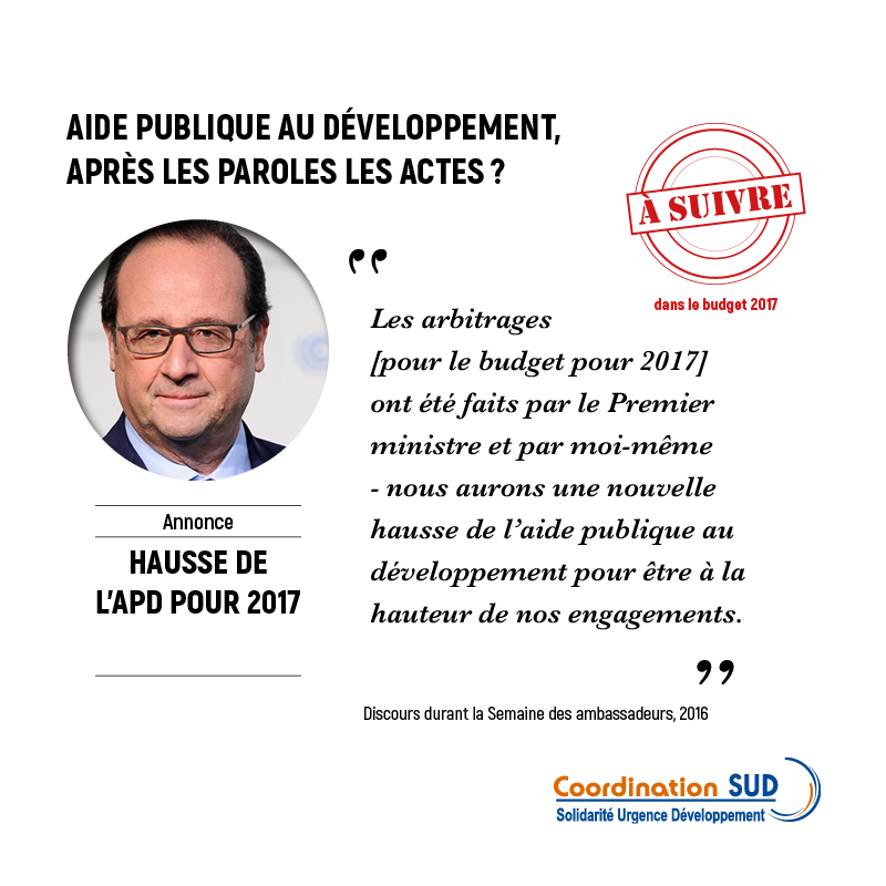 Fact-checking hausse de l'APD en 2017