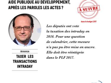Taxe sur les transactions financières : une victoire importante pour la solidarité internationale, bravo Messieurs et Mesdames les députés !