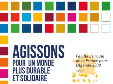 En route pour les ODD: adoption de la feuille française de mise en oeuvre