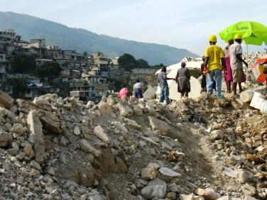 """Communiqué de presse """" 5 ans après le séisme en Haïti"""" – CCFD-Terre Solidaire"""