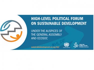 Coordination SUD au Forum politique de haut niveau des Nations unies