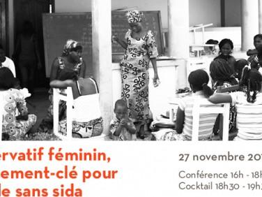 Conférence : Le préservatif féminin, investissement-clé pour un monde sans sida – Equilibres et Populations