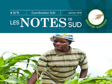 Les Notes de SUD – agriculture et alimentation (anciennement Les Notes de la C2A)