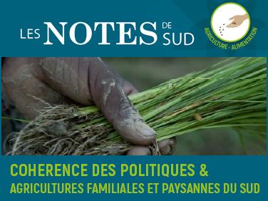 Les notes de SUD : quatre numéros consacrés à la cohérence des politiques