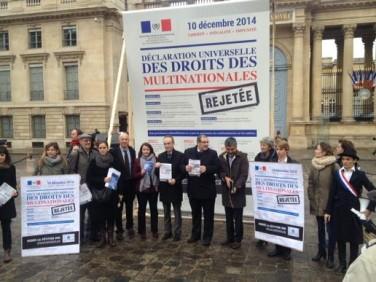 Le CCFD-Terre Solidaire rejette la « Déclaration universelle des droits des multinationales »
