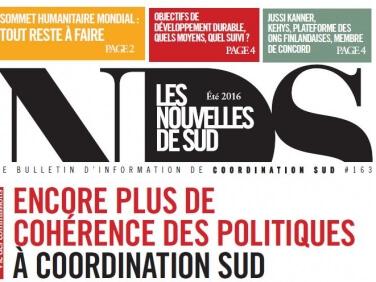 Le suivi des ODD en débat dans le numéro d'été des Nouvelles du SUD !