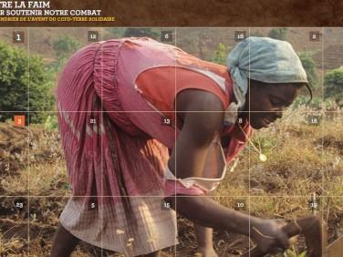 Un calendrier de l'Avent en ligne « 24 combats contre la faim » – CCFD-Terre Solidaire