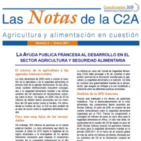 Las Notas de la C2A