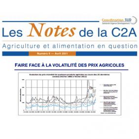 Les Notes de la C2A n°6 : faire face à la volatilité des prix agricoles