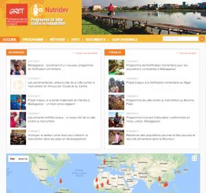 Nutridev.org : le site du programme de nutrition du Gret fait peau neuve !