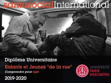 Diplôme Universitaire – Enfants et Jeunes de la Rue – 2019-2020