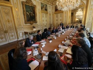 Rencontre Coordination SUD – François Hollande un dialogue constructif mais des inquiétudes demeurent