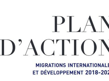 Plan d'action Migrations internationales et Développement 2018-2022