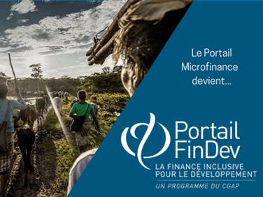 Le Portail Microfinance devient Portail FinDev