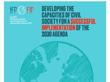 Les demandes du FIP pour le Forum politique de haut niveau des Nations unies 2017