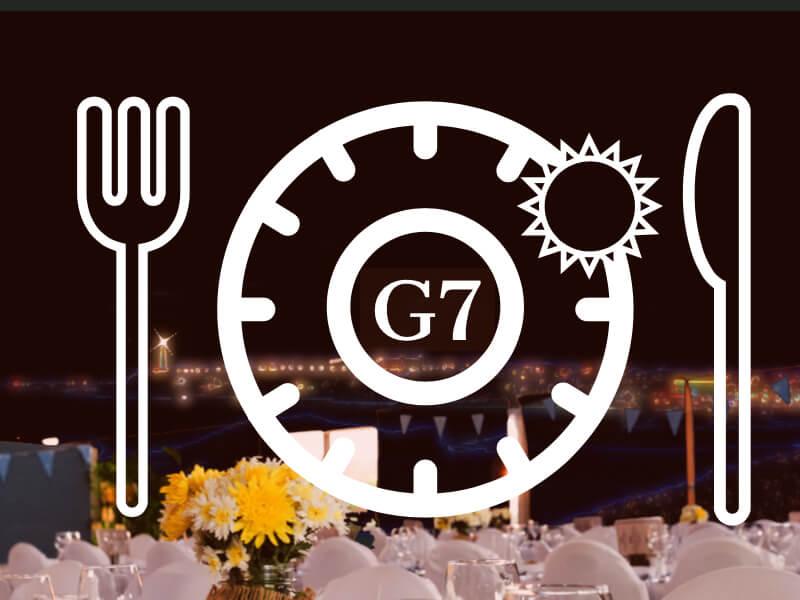 A la table du G7