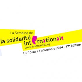 17e édition de la Semaine de la solidarité internationale