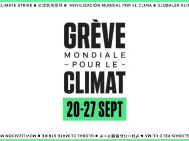 Grève mondiale pour le climat – rejoignez le mouvement!