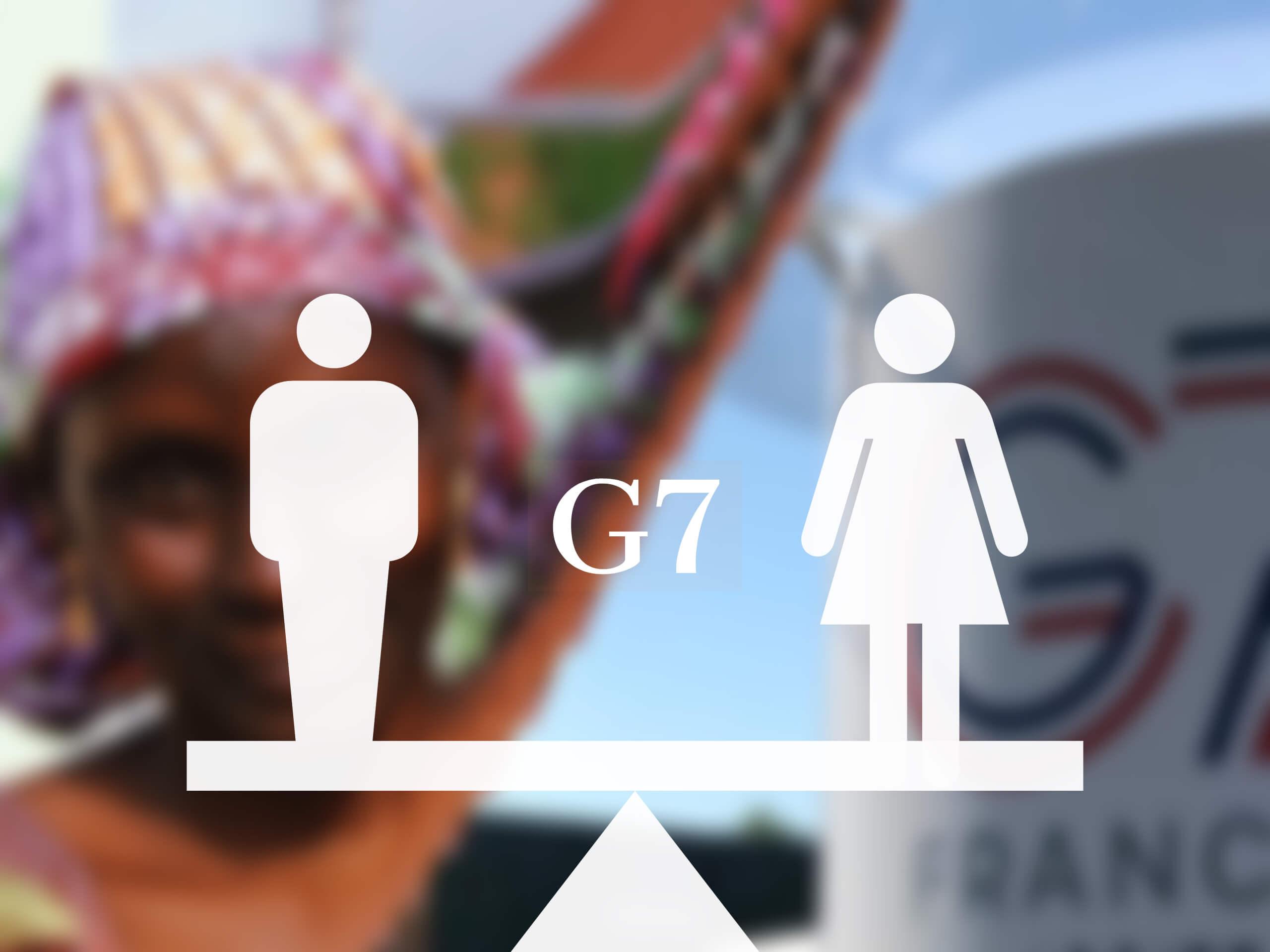 Egalité femmes - hommes au G7