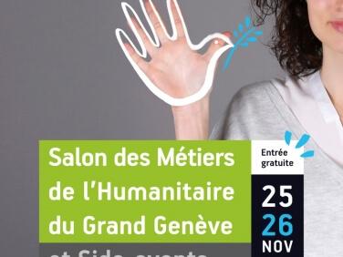 En route pour la 5e édition du Salon des métiers de l'humanitaire !