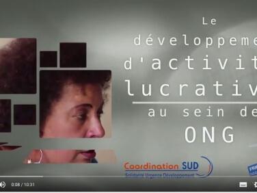 Découvrez la vidéo de capitalisation sur le développement d'activités lucratives au sein des ONG