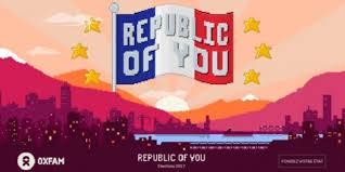 Devenez chef-fe d'Etat en jouant à Republic of You avec Oxfam