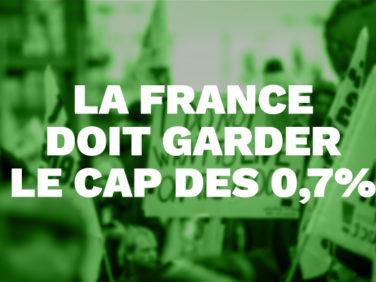 Augmentation minime de l'aide de la France aux pays pauvres : les candidats à la présidentielle doivent prendre position !