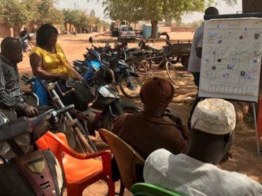 Pépinière urbaine de Ouagadougou: construire la ville par tous et pour tous