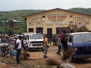 Plate-forme d'échanges des produits agricoles dans le Mayanda (Congo) – Gret